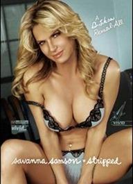 savanna samson stripped hot big boobs porn on your HDTV