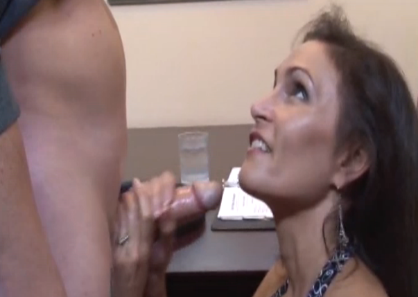 raven lachance cougar handjob at work on over 40 handjobs