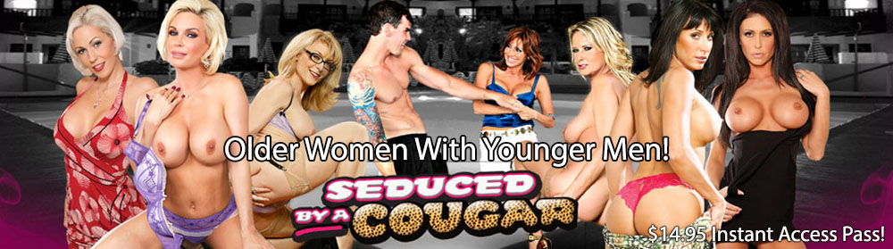 Seduced By A Cougar Discount: Was $24.95 Month, Now Pay Just $14.95 For Instant Access!